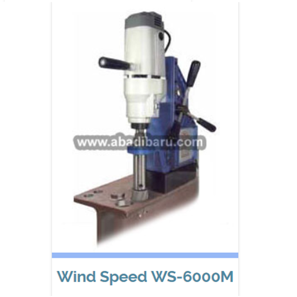 Magnetic Core Drill Machine Wind Speed Ws-6000M