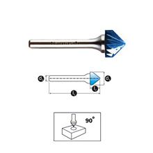 Mata Tuner Karnasch Tungsten Carbide Burr type Countersink 90°
