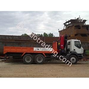 Rental Truk Crane  By PT  AB Logistics Balikpapan