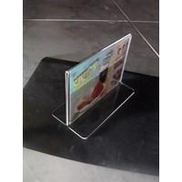 Beli Acrylic Tempat Brosur Jepit 10 Cm X 15 Cm  4