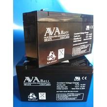 Battery AVABATT 12V 7.5 AH 1 (Aki Kering Battery  UPS  Box)