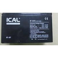 Jual Battery ICAL 12 V  7.2 AH ( Aki kering Solar UPS )