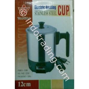 Ketel Elektrik Heating Cup 13Cm Panci Pemanas Portable