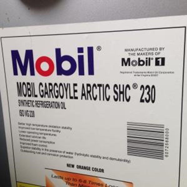 Oil and Lubricants mobil Gargoyle Arctic Shc 200 230 Series