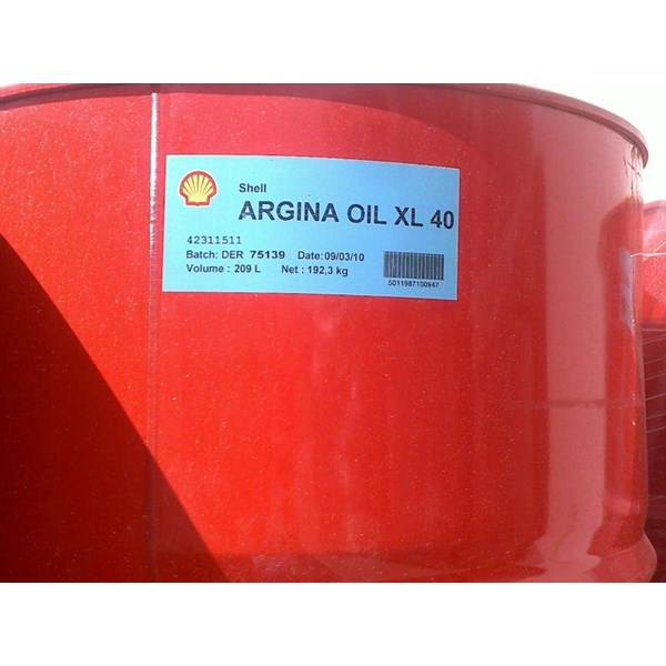 Oil and Lubricants Shell Argina T 30 S 30 Xl Series