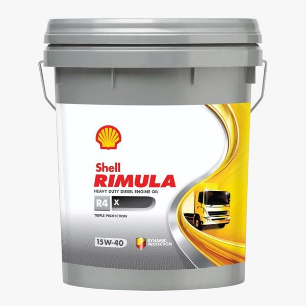 Oil and Lubricants Shell Rimula X R4 15w40