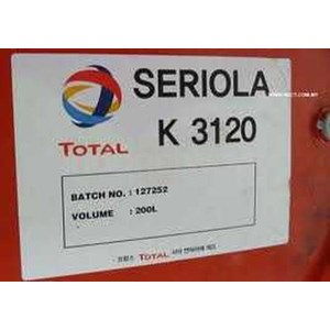 Oil and Lubricants Total Seriola 3120