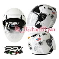 Helm Half Face Astronot