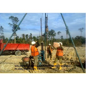 Drilling By PT  Geosindo Utama