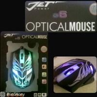 Mouse Jet Gaming Kabel G6 1