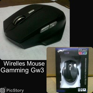 Mouse Wirelles Gaming Jet Gw3