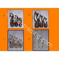 Sell Patung Kayu Kucing