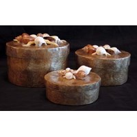 Round Box Set Of 3