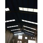 Atap UPVC MASPION SUPER ROOF Putih / Biru Doff 9