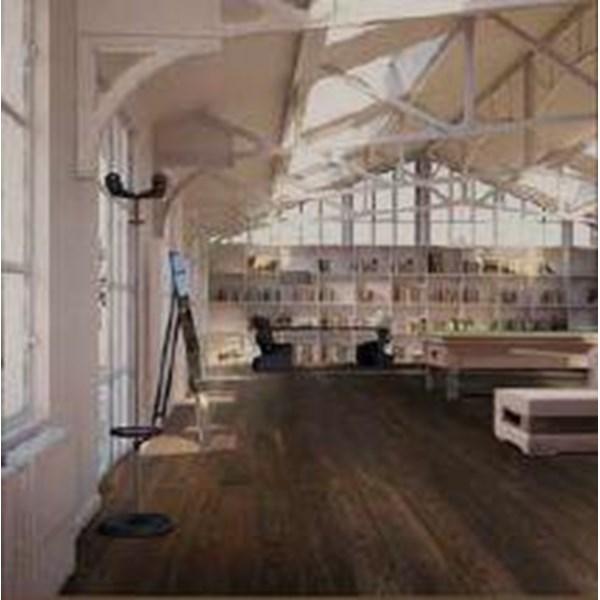 Shunda Flooring Lantai Parket Plastik PVC