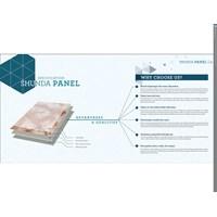 Jual Shunda Panel Marmer PVC