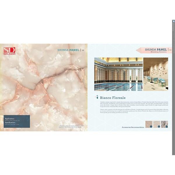 Shunda Panel Marmer PVC