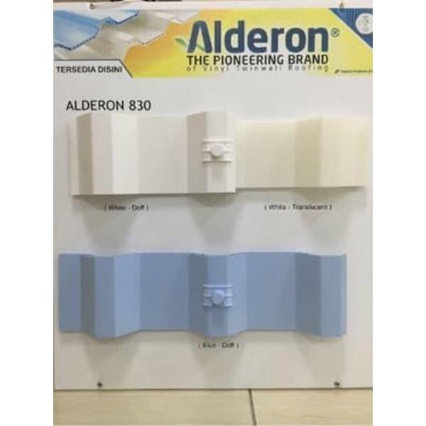 Atap UPVC ALDERON ID 86 SEMI TRANSPARANT