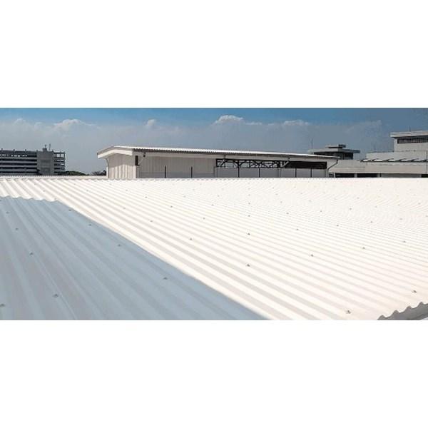 Atap UPVC Alderon Putih / Biru Doff ID 86