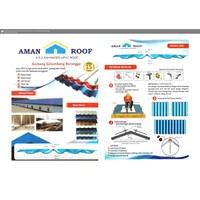 Atap UPVC Aman Roof Biru
