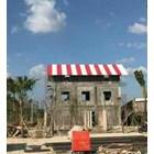 Atap UPVC Aman Roof Merah ASA 1
