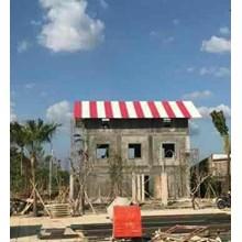 Atap UPVC Aman Roof Merah ASA