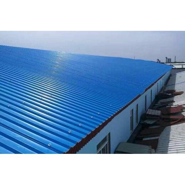 Atap UPVC Aman Roof Biru ASA