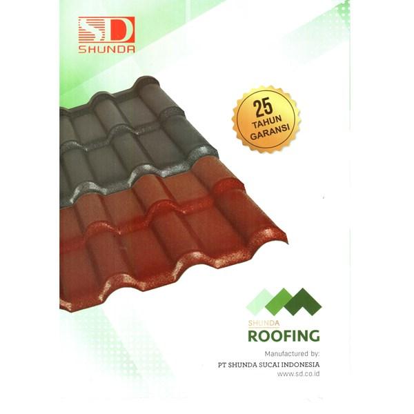 Shunda Roofing - Atap / genteng PVC Shunda