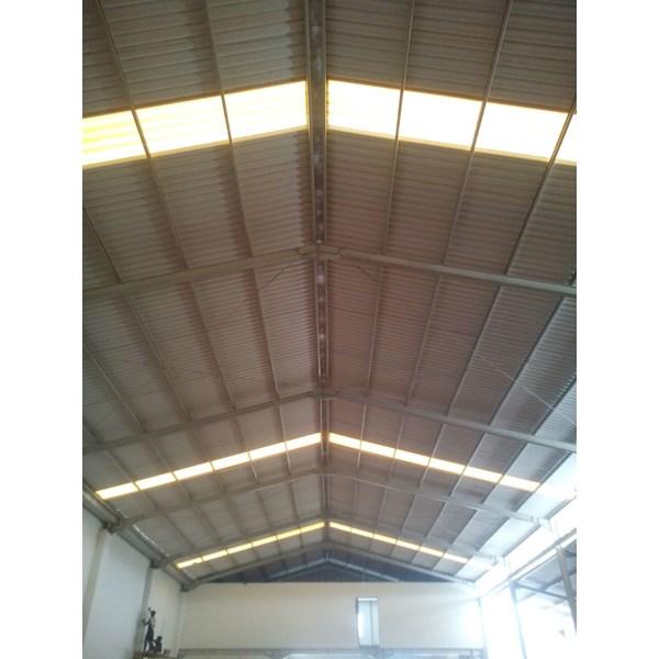 Atap UPVC Alderon Putih Doff R860