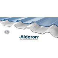 Jual Atap UPVC Alderon Biru ID860
