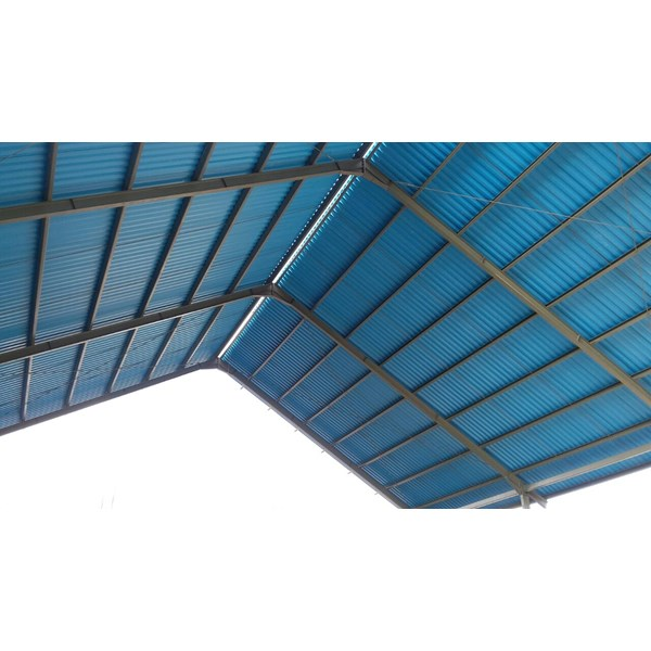 Atap UPVC Alderon Biru ID860
