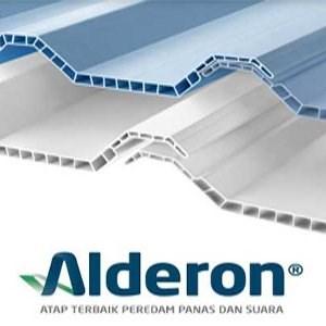 Atap UPVC Alderon Transparan R860