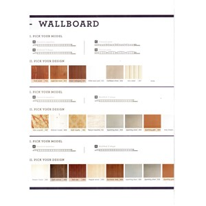 Shunda Wallboard Panel Dinding Partisi