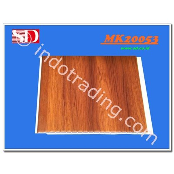 Shunda Plafon Pvc MK25054 Wood Soft Brown