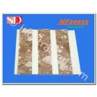Shunda Plafon PVC MF 20.039 BROWN MARBLE W/ DOUBLE DRAIN 2