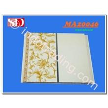 Plafon PVC MA 20046 White Gold Batik