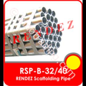 "Rendez Scaffolding Pipe, 1-1/2"" ( 48.3 Mm X 4 Mm X 6 Meter ) Standard Bs1139 / En 39 / Model : Rsp-B-40"