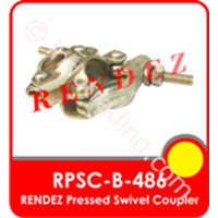 Rendez Pressed Swivel Coupler (Swivel Clamp/Swivel Coupler), Standard Bs1139 / En74 Model : Rpsc-B-486 1