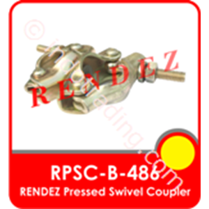 Rendez Pressed Swivel Coupler (Swivel Clamp/Swivel Coupler), Standard Bs1139 / En74 Model : Rpsc-B-486