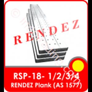 Rendez Metal Plank 250 Mm X 50 Mm X 1.8Mm X 2 M , Standard As 1577 Standard Model : Rsp-18-2