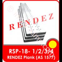 Rendez Metal Plank 250 Mm X 50 Mm X 1.8Mm X 4 M , Standard As 1577 Standard Model : Rsp-18-4 1
