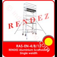 Rendez Aluminium Scaffolding Single Width – En 1004 Standard – Model : Ras-En-4 / Ras-En-8 / Ras-En-12 1