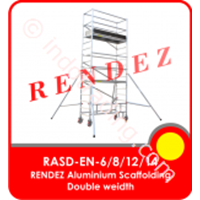 Rendez Aluminium Scaffolding Double Width – En 1004 Standard – Model : Rasd-En-6 / Rasd-En-8 / Rasd-En-12 1