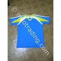 Kaos Olahraga Katun Combed Biru Muda