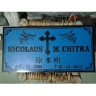 Christian 20x50 granite headstones 1