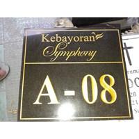 Jual Grafir Nomor Rumah Kebayoran Symphoni