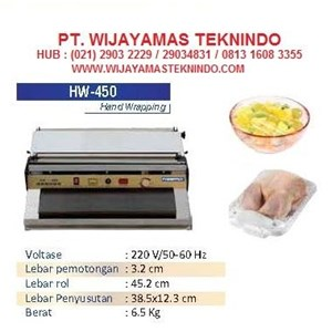 Mesin Pengemas Hand Wrapping MachineHW-450 Luxury
