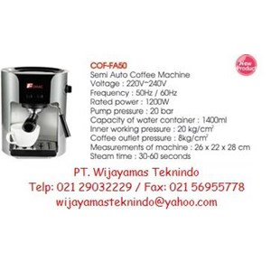 Semi Automatic Coffee Machine (Mesin Kopi Semi Otomatis) COF-FA50