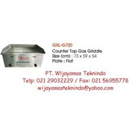 Gas Griddle (Mesin Pemanggang Gas) GRL-G720 1
