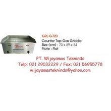 Gas Griddle (Mesin Pemanggang Gas) GRL-G720